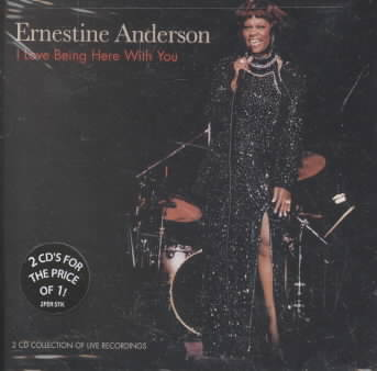 I LOVE BEING HERE WITH YOU BY ANDERSON,ERNESTINE (CD)